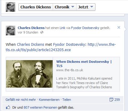 Dickens Dostojewskij in der Krimiblog-Konferenz
