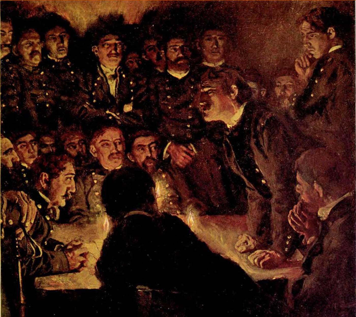 Krimiblog-Konferenz mit Spionen